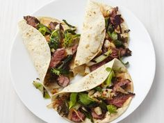 Get Korean Beef Tacos Recipe from Food Network