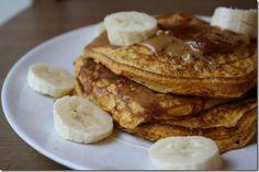 Gluten Free Pumpkin Pancakes Recipe (sub almond flour)