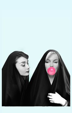 Audrey & Marilyn by GVibesShop