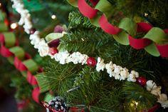 weihnachtsdeko weihnachtsbaumschmuck girlande popcorn machen