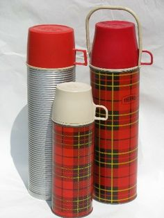 1950's Vintage Thermos. These make me happy