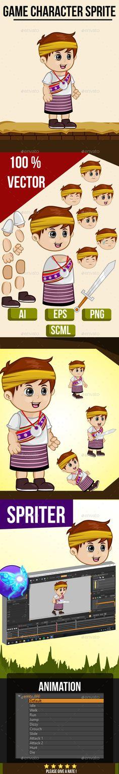 Little Boy South East Asian Sprite (Sprites)