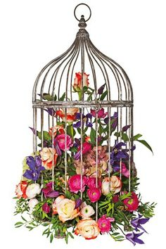 Wedding Birdcage Decoration Idea (BridesMagazine.co.uk)