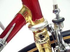 1979-80 COLNAGO MEXICO ORO detail with gold