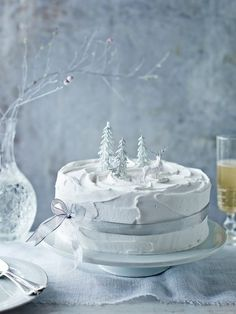 Become a baking legend like Great British Bake Off judge Mary Berry with the ultimate Christmas cake recipe - it really is a piece of cake Mary Berry Christmas Cake, Noel Christmas, Christmas Goodies, Christmas Desserts, Christmas Treats, Christmas Cakes, White Christmas, Christmas Recipes, Winter Desserts