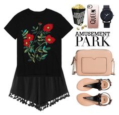 """60-Second Style: Amusement Park"" by justkejti ❤ liked on Polyvore featuring MANGO, Casetify, amusementpark, 60secondstyle and zaful"