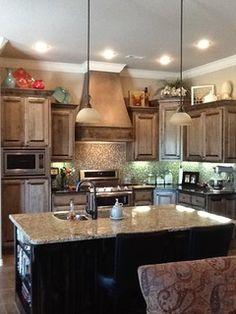 50 best above cabinet decor images above cabinets house rh pinterest com