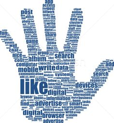 Stock vector of 'Hands, which is composed of text keywords on social media themes' Content Marketing, Internet Marketing, Social Media Marketing, Video Advertising, Online Advertising, Computer Online, Social Media Video, How To Attract Customers, Ads