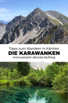 Die Karawanken: Wandern in der Region Rosental – Best Europe Destinations Europe Destinations, Bucket List Destinations, Camping And Hiking, Hiking Trails, Camping Hacks, Outdoor Reisen, Carinthia, Reisen In Europa, Backpacking Europe