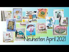 Neuheiten April - Stempel & Stanzschablonen - JM-Creation - YouTube Gallery Wall, Frame, Youtube, Design, Decor, Aperture, News, Die Cutting, Stamps