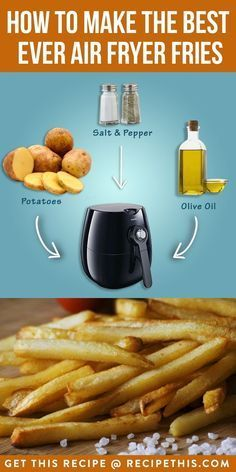 #AirfryerRecipes | How To Make The Best Ever Air Fryer Fries