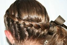 Wrap-Around French Braid | Hairstyles for Long Hair | Cute Girls Hairstyles