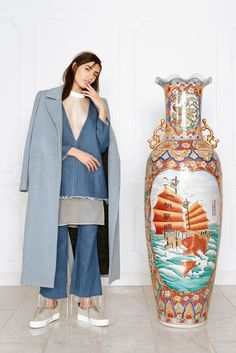 Sandy Liang RTW Fall 2015 - Slideshow - Runway, Fashion Week, Fashion Shows, Reviews and Fashion Images - WWD.com