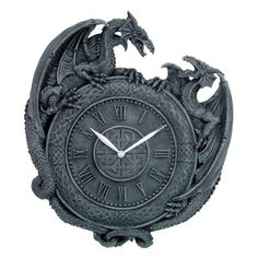 Dragon clock (One for Cheryl)