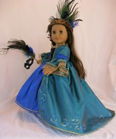 Ooak Queen of the Night for American Girl Cecile, Marie-Grace, Caroline, Isabell