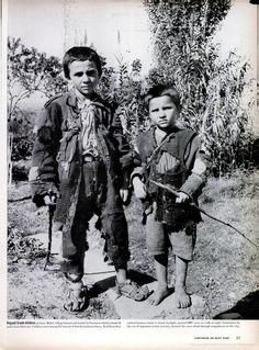 LIFE Magazine / Ragged Greek Children