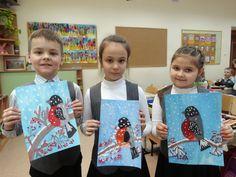 32 Ideas winter art ideas grade 3 student for 2019 Winter Art Projects, Cool Art Projects, Winter Crafts For Kids, Painting For Kids, Drawing For Kids, Art For Kids, 3rd Grade Art Lesson, Grade 3, Handprint Art