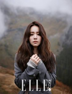 More Of Han Ji Min In Switzerland For Elle Korea's November 2014 Issue | Couch Kimchi