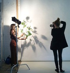 #MKmoment : Our insanely amazing art director and photographer creating textures at the #SS15 #womenswear campaign shoot in London. #madisonknight #mustbeMK #tbt #behindthescenes #MKlifestyle #comingsoon #London #fashion #photography