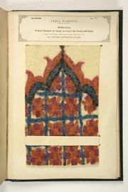 The Textile Manufactures of India, compiled by John Forbes Watson Indian Patterns, Textile Patterns, Textile Art, Textiles, Main Colors, Colours, Museum Art Gallery, State Map, Fabric Samples