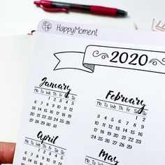 Excited to share this item from my shop: Bullet Journal Year at a glance sticker for 2020 Bullet Journal Year At A Glance, Bullet Journal 2020, Journal Stickers, Planner Stickers, Printable Stickers, Printable Planner, Weather Tracking, School Notes, Busy Life