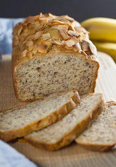 Banana Bread Cake via @stastycook// #baking #banana #bread #coconut