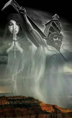 in mezzo alla tempesta e il dolore