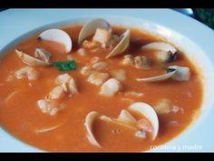 Sopa de pescado - Cocinera y Madre
