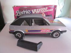 Barbie Volkswagen Golf Convertible by Mattel, 1984