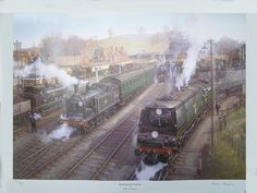 MiSDirection: Historical Fiction Novel and Assurance: Mystery Thriller Southern Trains, Transport Pictures, Yeovil Town, Historical Fiction Novels, Steam Railway, Train Art, British Rail, Isle Of Wight, Steam Engine