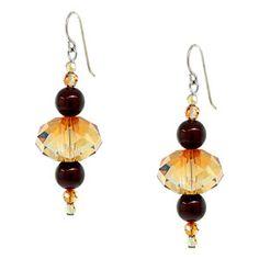Cinnamon Sprinkle Earrings   Fusion Beads Inspiration Gallery