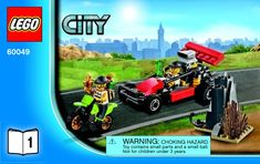 City - Helicopter Transporter [Lego 60049]