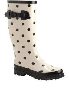 .love these rain boots.  what a happy way to do rain
