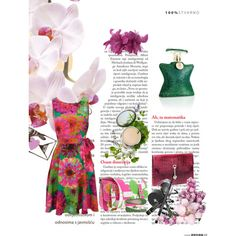Summer Floral, created by jacque-reid on Polyvore