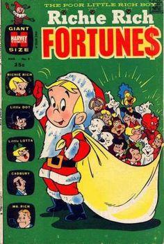 Santa Costume - Casper - Little Dot - Little Lotta - Little Audrey
