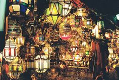 souk lamps by ..jac, via Flickr
