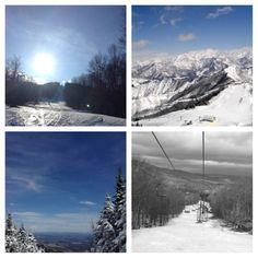 Thanks Vermont for all the great views and slopes! #smugglersnotch #snowboarding #sb2013