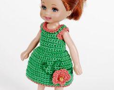 Crotchet Fashion for Kelly, Shelly dolls