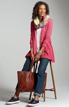 Shoes & Accessories > J.Jill leather tote at J.Jill