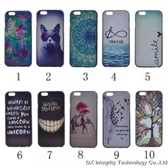 Free Gift Ultra thin Cover case For iPhone 5S 5c 6 6S PLUS  hard Cute lovely case cover
