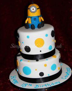 Minnion Birthday Cake! Mom I want this for my 18th!!!! @Irene Hoffman Delgado