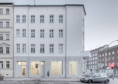 German architecture firm NORD Studio has renovated a derelict building in Berlin to create a gallery, artist studio and archive dedicated to drawing.
