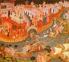 Venise d'après Le Livre des Merveilles de Marco Polo