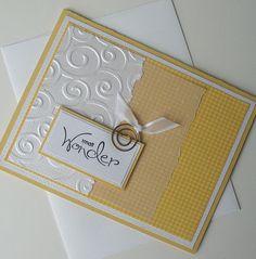 Baby/ Newborn Greeting Card Handmade Blank by Sentimentalist, $2.50