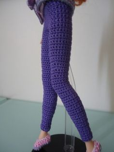 Barbie Basic Leggings http://dezalyx.hubpages.com/hub/Barbie-Leggings-Free-Crochet-Pattern