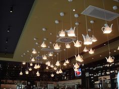 Tea-shop lights