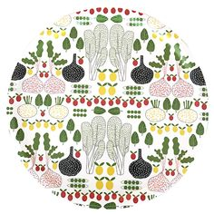 Shop fruits and greens,white - tray from ann.fi in Trays, Trays & coasters, available on Tictail from