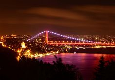Rumelian Castle & Bosphorus Bridge, Istanbul, Turkey