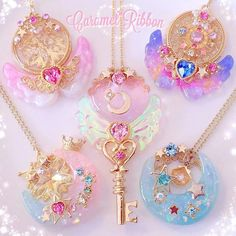 Magical necklaces by Caramel Ribbon