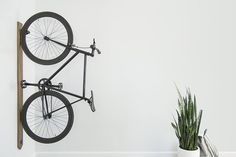 A part of Artifox's beautifully simplistic series of minimalist office objects, the Rack is bike storage you'll be as happy to have on display as the